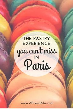 Even if you only have a few days in Paris, you have time for a cooking or baking class! Baking Macarons in Paris - www.AFriendAfar.com