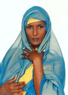 Waris Dirie is a Somalian human rights activist. She is working against female circumcision and the elimination of female genital mutilation.