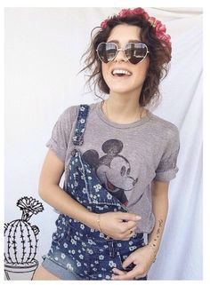 I actually kind of like this look. It's adorable and I'd pull it off with one edgy thing added to make it look more me