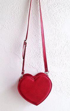 Heart crossbody bag by Golden Ponies