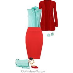 This hot coral may be a little to bright for a shaded autumn. I styled this color as a skirt and paired with a rich true red. To add a little interest and contrast, this light turquoise blouse will look amazing.Have fun and wear what you love!Jen ThodenShop This LookWearAll boyfriend car