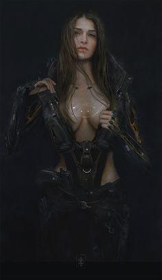 ArtStation - Juliane., Eve Ventrue