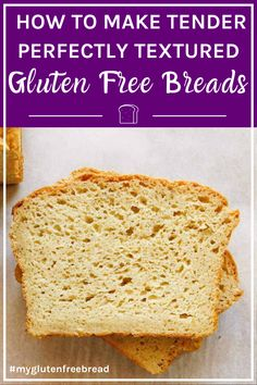 Get your gluten free baking problems solved! From too dry to too crumbly, we've got the solutions you're looking for! Get your gluten free baking problems solved! From too dry to too crumbly, we've got the solutions you're looking for! Gluten Free Quick Bread, Paleo Bread, Paleo Baking, Gluten Free Snacks, Gluten Free Breakfasts, Gluten Free Flour, Gluten Free Cooking, Gluten Free Recipes, Baking Recipes