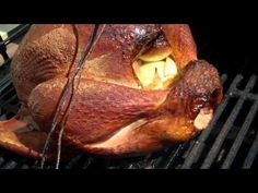 How To Make The World's Best! Real Cured Apple Wood and Hickory Smoked Old Fashioned Turkey! - YouTube