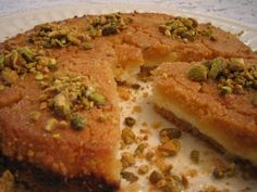 Arabic people are crazy for Knafeh which is extremely popular dessert in Arabic region.