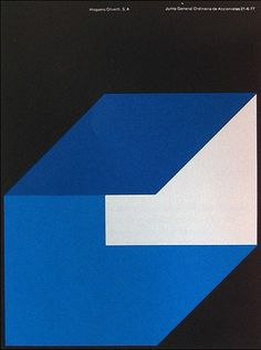i like the simplicity of the design. The black background makes the blue square pop.