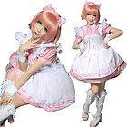 Lolita Fantasy japan Kera Dreamy Cafe Black Butler Cosplay maid dress costume P