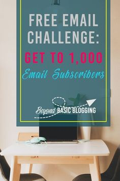 Do you have what it takes to grow your email list to over 1,000 subscribers? With this free email challenge, you have everything you need! #emaillist #emailistgrowht #emaillistgrowthforblgogers Way To Make Money, Make Money Online, Business Tips, Online Business, Thing 1, Free Email, Best Blogs, Email Marketing, Business Marketing