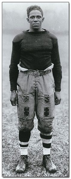 "Frederick ""Fritz"" Pollard (January 27, 1894 – May 11, 1986) was the first African American head coach in the National Football League (NFL). Pollard along with Bobby Marshall were the first two African American players in the NFL in 1920. Fritz also played in the 1916 Rose Bowl for Brown University and is in the NFL Hall of Fame."