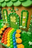 St. Patrick's Gingerbread House