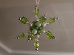 Tutorial - 3-D Beaded Christmas Star Decoration - OCCASIONS AND HOLIDAYS