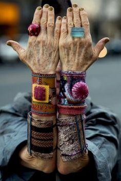 ≔ ♱ Boho Style ♱ ≕ bohemian gypsy hippie fashion - jewelry | Abigail Doan