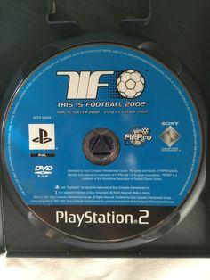 Esto es Futbol 2002 game disc.