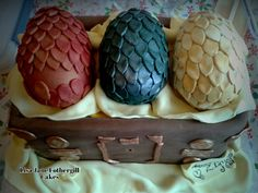 Dragon Eggs Cake Game of Thrones | Flickr - Photo Sharing!
