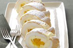 Small Desserts, Great Desserts, Mini Desserts, Delicious Desserts, Cold Desserts, Pavlova Cake, Pavlova Recipe, Dacquoise, Mango Dessert Recipes