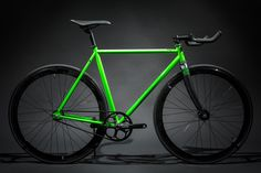 Contender - Green : Fixies & Fixed Gear Bikes | State Bicycle Co.