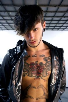 I'll take almost any guy with tattoos and gauges along with a hot bod!!