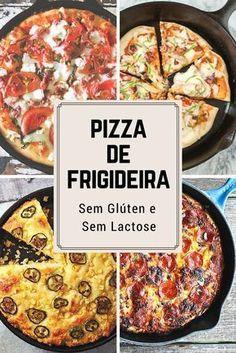 Pizza de frigideira, pizza de frigideira fit, pizza de frigideira sem glúten,pizza de frigideira receita,pizza sem glúten e sem lactose, pizza sem leite