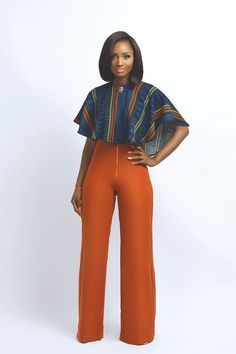 Nouva-Couture ~African fashion, Ankara, kitenge, African women The pants are life! African Attire, African Wear, African Women, African Dress, African Style, African Outfits, African Design, African Inspired Fashion, African Print Fashion