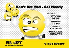 Moody Sewage  Promotional Flyer