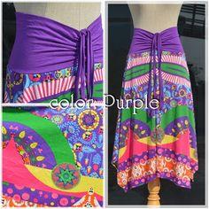 trip art psyche print 2way -color: Purple- #naturaleeza #fashion #onlinestore