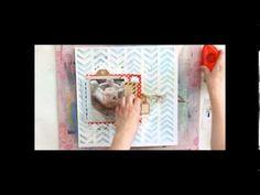 Inner Child - Making a scrapbooking layout video by Riikka Kovasin