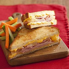 hawaiian grilled cheese sandwiches - for my daughter birthday party