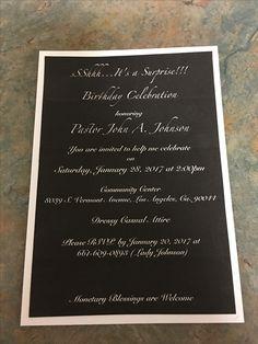 Invitations 50 count