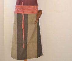 Modern Japanese Half Apron  #apron #avental