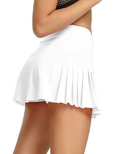Womens Tennis Skirts, Golf Skirts, Gym Shorts Womens, Mini Skirts, Tennis Clothes, Tennis Outfits, Pleated Tennis Skirt, Layer Style, Skirts With Pockets