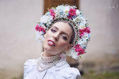 Tradičná svadobná parta / cajova - SAShE.sk - Handmade Ozdoby do vlasov