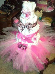 Tutus and diper cakes