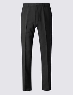 Big & Tall Flat Front Trousers Mens Big And Tall, Big & Tall, Tall Pants, Trousers, Sweatpants, Stylish, Flat, Tops, Fashion