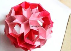 Cherry Blossoms Kusudama - Tutorial • Art Platter