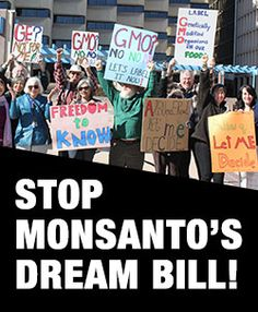 02/19/16: Senator Roberts just introduced Monsanto's Dream Bill in the Senate. Please take action Just do it. https://secure.foodandwaterwatch.org/site/Advocacy?cmd=display&page=UserAction&id=2484&s_src=taf_sp&s_subsrc=021916&sp_ref=176045789.63.158000.f.497187.2