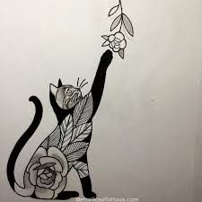 Image result for cats sleeve tattoos for women