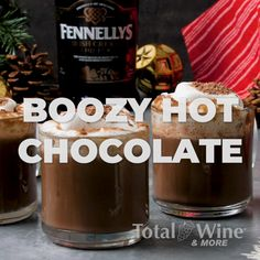 Hot Chocolate Recipes, Smoothies, Cocktails, Treats, Wine, Smoothie, Craft Cocktails, Sweet Like Candy, Goodies