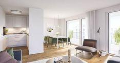 Topmoderne 4.5 Zimmer Wohnung in Gossau (SG) zu vermieten.