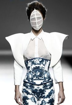 Maya Hansen SS 2015 | fashion | future fashion | style | runway                                                                                                                                                                                 More