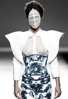 Maya Hansen SS 2015 | fashion | future fashion | style | runway                                                                                                                                                                                 More