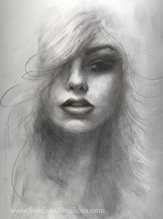charcoal art drawings | ... graphite drawing charcoal portrait , charcoal art | Post Points: 65