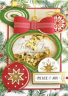 Image result for anna griffin shaker christmas cards