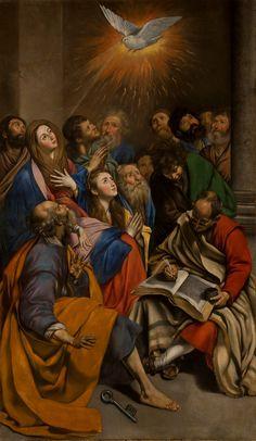 The Pentecost, MAÍNO, FRAY JUAN BAUTISTA Copyright ©Museo Nacional del Prado.