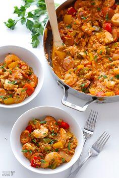 This looks so greattt!! Ohh yes imma try this recipe!!-   Jambalaya Recipe | gimmesomeoven.com