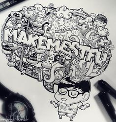 How many of us stand guilty of doodling during meetings or lectures? Doodling has become synomous with day-dreaming as depicted by the media in movies, TV shows and even cartoons. At first glance, it does seem that doodling has a negative connotation equating to being distracted from the