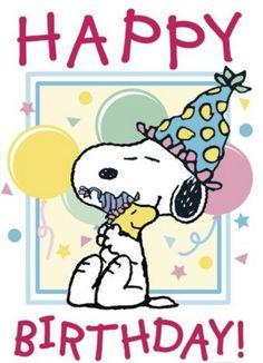Snoopy Bday