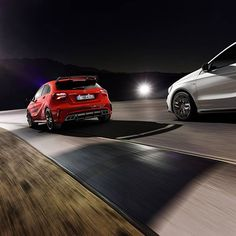 With its completely revised powertrain and improved aerodynamics the Mercedes-AMG A 45 now offers an even more emotional experience behind the wheel. Find out more here: http://amg4.me/R2T1D4CJ  #MercedesBenz #MercedesAMG #Mercedes #Benz #AMG #AMGA45 #A45 #DrivingPerformance #Car #Cars #Auto #Automobile #InstaCar #Performance #Power #Passion #Fast #Red #powertrain #HighPerformance #DrivingPerformance [Mercedes-AMG A 45 | Combined fuel consumption: 7.3-6.9 l/100km | CO2 emission: 171 - 162…