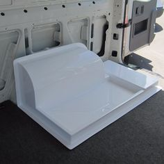 Wheel arch shower tray Source by schnabelwerbung Related posts: Building a Wet Bath and Shower into Promaster DIY Camper Van I love the idea of building a retractable sink that can serve as a shower in a camper! Motorhome, Combi Wv, Shower Basin, Camper Bathroom, Camper Van Life, Transit Camper, Van Dwelling, Vanz, Fiberglass Shower