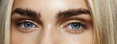 Line Brems backstage at Alexis Mabille S/S 2015