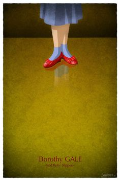 Nicolas Bannister - Famous Shoes - Dorothy Gale